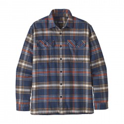 See M's L/S Fjord Flannel Shirt in Defender: New Navy