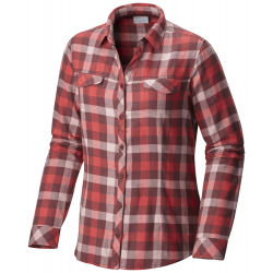 See Simply Put II Flannel Shirt Ws in Bloodstone Chec
