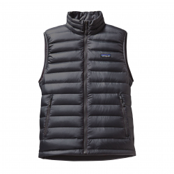 See Down Sweater Vest Mens in Forge Forge Gre