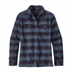 See Fjord Flannel Shirt Ws in BP Navy Blue