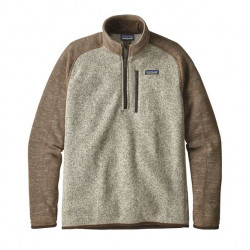 See Better Sweater 1/4 Zip M in BLPA Tan