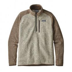See Better Sweater 1/4 Zip M in BLPA Tan