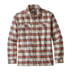 See Fjord Flannel Shirt M in MILS Sesame