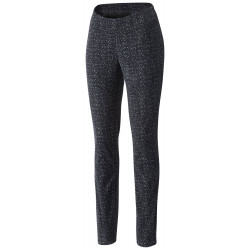 See Glacial Fleece Printed Legging W in Black Tweed