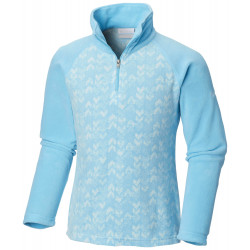 See Glacial II Fleece Print Half Zip in Atoll Arrows Pr