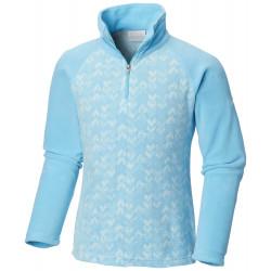 See Glacial II Fleece Print Half Zip in Atoll Arrows Pr