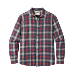 See Saloon Flannel Shirt in Twlight Plaid
