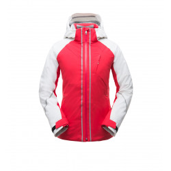 See Rhapsody Jacket Wm in Hibiscus White Hibiscus