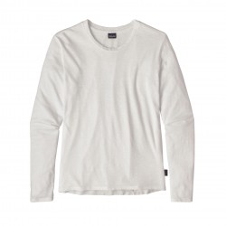 See W's L/S Mainstay Shirt in White