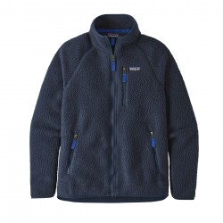 See M's Retro Pile Jkt in New Navy