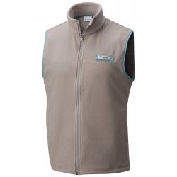 See Harborside Fleece Vest Ms in Kettle, Teal