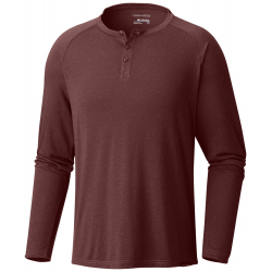 See Trail Shaker LS Henley Ms in Deep Rust Heath