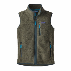 See Retro Pile Vest Ws in IndustrialGreen
