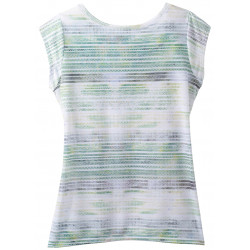 See Mytrle top in Green mirage