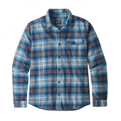 See Fjord Flannel Shirt LW Ms in BELB Blue