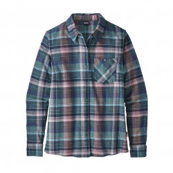 See Heywood Flannel Shirt in PLSB Blue