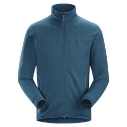 See Covert Cardigan Mn in Hecate Blue