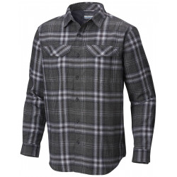 See Silver Ridge Flannel Long Sleeve Shirt M in Black Plaid