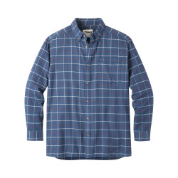 See Downtown Flannel Shirt in Twilight