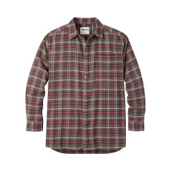 See Peden Flannel Shirt M in Coffee Plaid