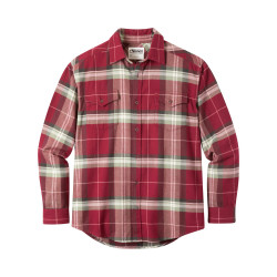 See Teton Flannel Shirt Mn in Raisin