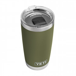 See Rambler 20oz Maglid in Olive Green