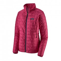 See W's Nano Puff Jkt in Craft Pink w/Craft Pink
