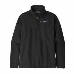 See M's Better Sweater 1/4 Zip in Black
