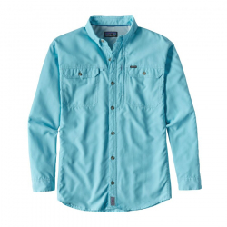 See L/S Sol Patrol II Shirt M in Cuban Blue