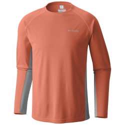 See Cast Away Zero Knit LS M in Bright Peach