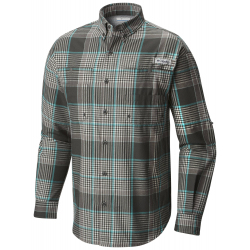 See Tamiami Men's Flannel in Grill Plaid
