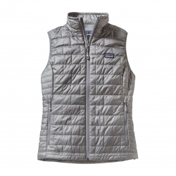 See Nano Puff Vest Women in Feather Grey