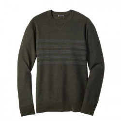See Kiva Ridge Stripe Crew M in Green