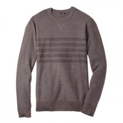 See Kiva Ridge Stripe Crew M in Brown