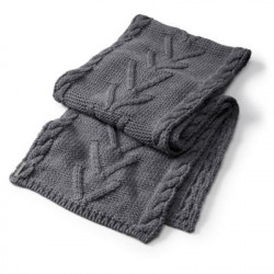 See Marquette Scarf in Grey