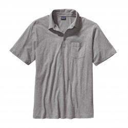 See Squeaky Clean Polo Mn in Feather Grey