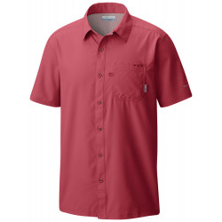 See Slack Tide Camp Shirt M in Sunset Red