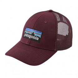 See P6 Logo LoPro Trucker Hat in DKCT Currant