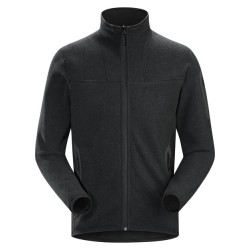 See Covert Cardigan Mn in Black Heather