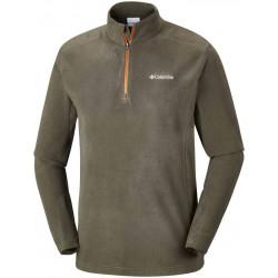 See Klamath Range II Half Zip in Peatmoss Orange