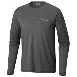 See Tech Trail Long Sleeve Crew in Shark