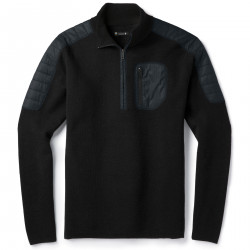 See Ski Ninja Half Zip Sweater M in Black