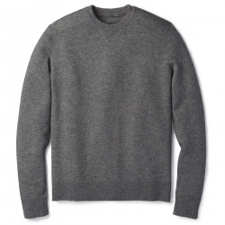 See Sparwood Crew Sweater M in Medium Gray