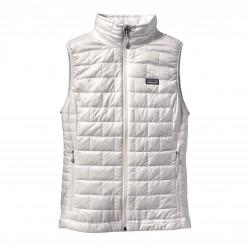 See W's Nano Puff Vest in Birch White