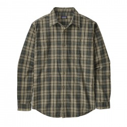 See M's L/S Pima Cotton Shirt in Palmdale: Sage Khaki