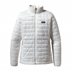 See Nano Puff Jacket Women in Birch White