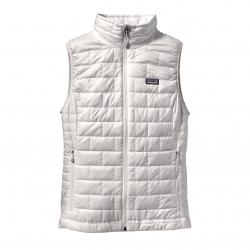 See Nano Puff Vest Women in Birch White