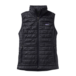 See Nano Puff Vest Women in Black