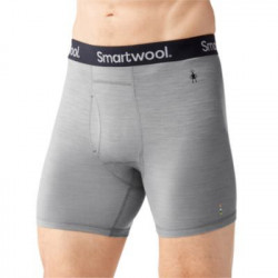 See Merino 150 Pattern Boxer Brief in Grey