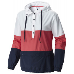 See Harborside Windbreaker Ws in Sunset Red, Col